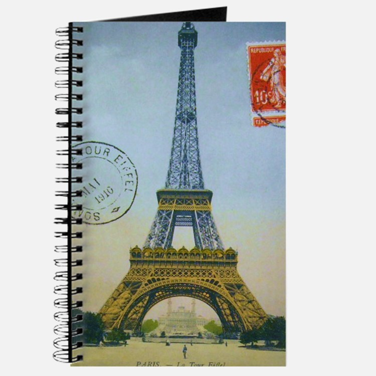 eiffelpostcardprint Journal