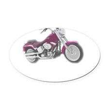 real women harley Oval Car Magnet