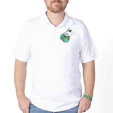 jazz bass distressed green T-Shirt