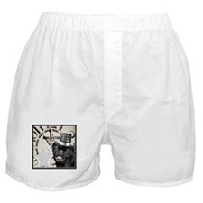 New Years Pug Dog Boxer Shorts