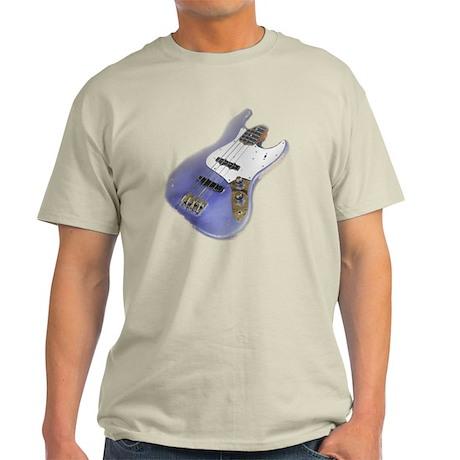 jazz bass distressed purple Light T-Shirt