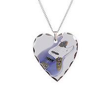 jazz bass distressed purple Necklace