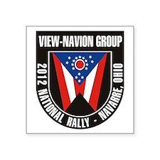 "12_national_rallyT Square Sticker 3"" x 3"""
