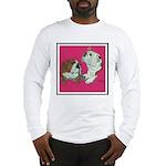 English Bulldog Pair Long Sleeve T-Shirt