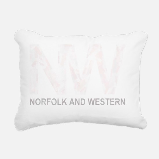 nw-weathered-dark Rectangular Canvas Pillow