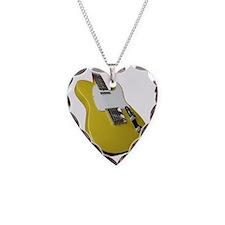 tele yellow Necklace