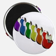Rainbow Guitar Tee Magnet