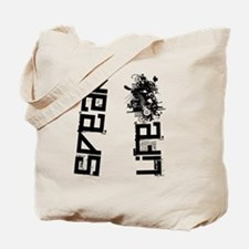 speaklifeflipflop Tote Bag