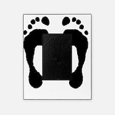 Footprint_FlipFlops_001_black_on_whi Picture Frame