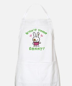 Who's Your Bunny BBQ Apron