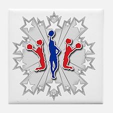 Cheer-Star Tile Coaster
