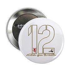 "Scotland number 12 gold football alba 2.25"" Button"