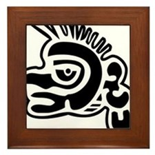 Ozomatli Framed Tile