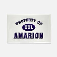 Property of amarion Rectangle Magnet