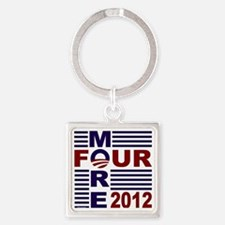 Four More 2012 Square Keychain