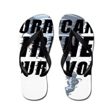 HurricanIreneEline1 Flip Flops