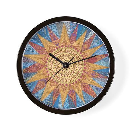 A Quilt of Sunshine Wall Clock