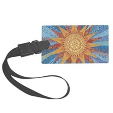 A Quilt of Sunshine Luggage Tag