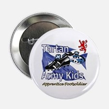 """Tartan Army Kids Scotland 2.25"""" Button"""
