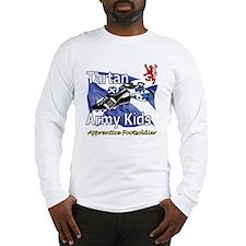 Tartan Army Kids Scotland Long Sleeve T-Shirt