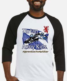 Tartan Army Kids Scotland Baseball Jersey