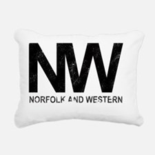 nw-weathered-white Rectangular Canvas Pillow