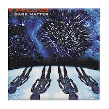 Dark Matter Cover Hi Rez Tile Coaster
