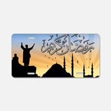 Ramadan Aluminum License Plate