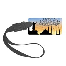 Ramadan Luggage Tag