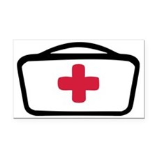nurse_hat Rectangle Car Magnet
