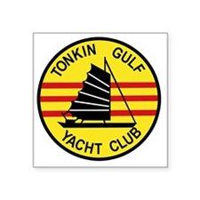 "TONKIN GULF YACUHT CLUB Vie Square Sticker 3"" x 3"""