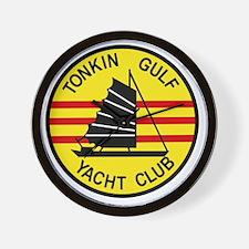TONKIN GULF YACUHT CLUB Vietnam U S Nav Wall Clock