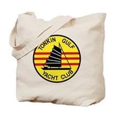 TONKIN GULF YACUHT CLUB Vietnam U S Navy  Tote Bag