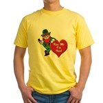 Masonic Valentine/St. Pats Day Yellow T-Shirt