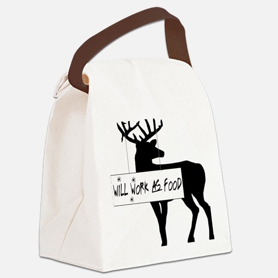 willworkasfood Canvas Lunch Bag