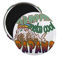 OLD HIPPIES MAKE COOL PAPAWS Magnet