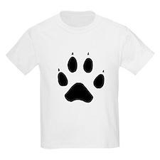 Wolf Paw Kids T-Shirt