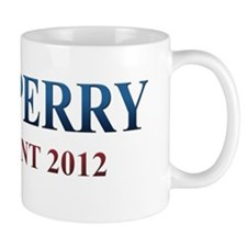 rick perry white t-shirt logo Mug