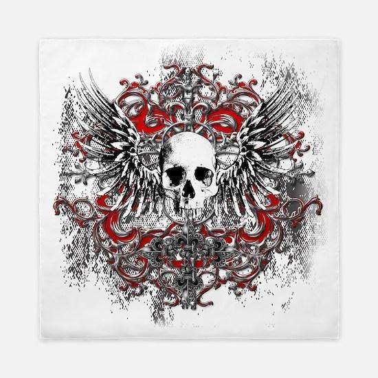 Skullz Wings Queen Duvet