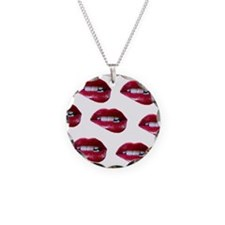 mouths Necklace
