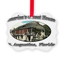 oldhouse Picture Ornament