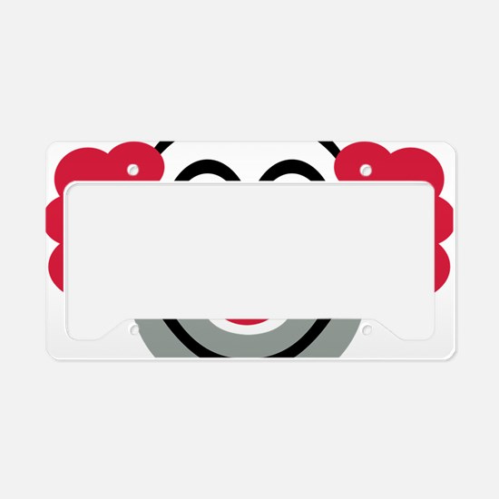 clown License Plate Holder