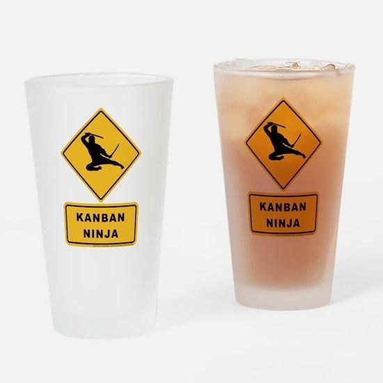 Kanban Ninja - Just In Time Drinking Glass