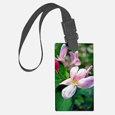 Floral Art Luggage Tag