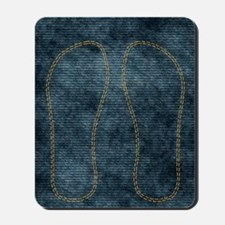 Jeans_doubleStitched Mousepad
