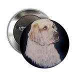 Clumber Spaniel Hunter Button