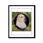 Clumber Spaniel Hunter Framed Panel Print