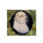 Clumber Spaniel Hunter Postcards (Package of 8)