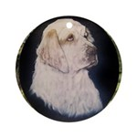 Clumber Spaniel Hunter Ornament (Round)