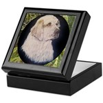 Clumber Spaniel Hunter Keepsake Box